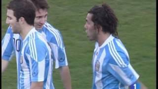 Download Paliza de Argentina a España 4-1 Video