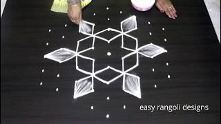 Download Latest bright n cute Sankranthi muggulu2019    easy n simple Pongal kolam    new rangoli designs Video