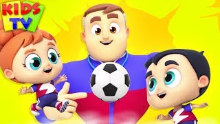 Download Soccer Song | The Supremes | Songs for Babies | Cartoon Videos for Kids Video