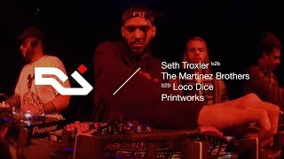 Download RA Live: Seth Troxler b2b Loco Dice b2b The Martinez Brothers at Printworks Video