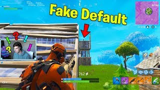 Download NEW VERTEX SKIN vs The Best FAKE DEFAULT Ever! | Fortnite Battle Royale Gameplay Video