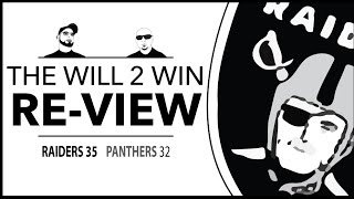 Download Raiders defeat Panthers, 35-32 9-2 raiders 1st place in AFC west. Tim Casto Memorial Video