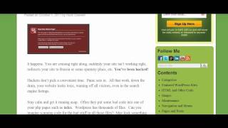 Download What if Your WordPress Site is Hacked? Part 1 Video