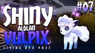 Download SHINY ALOLAN VULPIX! BEAUTIFUL GRAPHICS! - Shiny Living Dex #037 - Pokémon Sun & Moon Highlight #07 Video