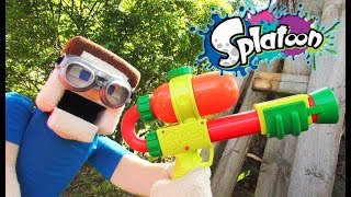 Download Splatoon 2 Splattershot Blaster Toy Gun Summer Octo Ink War! Unboxing Review music Nerf Video