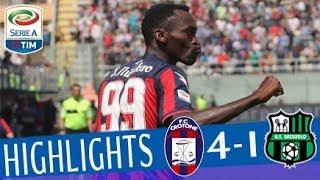 Download Crotone - Sassuolo 4-1 - Highlights - Giornata 35 - Serie A TIM 2017/18 Video