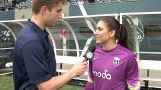 Download Player of the Match Interview (Part 2) - Hope Solo at Thorns FC Video