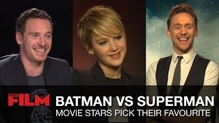 Download Batman vs Superman: Movie Stars Pick Their Favourite Video