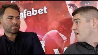 Download BANTER! EDDIE HEARN STARTS TALKING KELL BROOK v LIAM SMITH, THEN IN COMES LIAM SMITH TO DISCUSS! Video