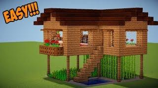 Cara Membuat Rumah Modern Sederhana Minecraft Free Download