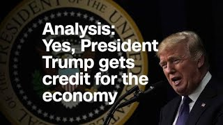 Download Analysis: Yes, President Trump gets credit for the economy Video