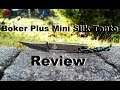 Download Knife Review: Boker Plus Mini Slik Tanto Video