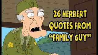 Download 26 Herbert Quotes From ″Family Guy″ Video