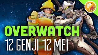 Download 12 GENJI | 12 MEI - Overwatch (Gameplay Funny Moments) Video