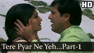 Download Tere Pyar Ne - Govinda - Raveena Tandon - Rajaji - Udit Narayan - Anand Milind - Hindi Hit Songs Video