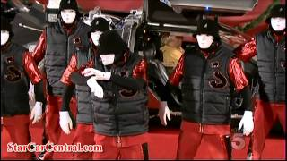 Download 2011 Hollywood Christmas Parade StarCars and Jabbawockeez Video
