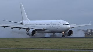 Download Strong Crosswind Landings (6Bft) Schiphol Airport Polderbaan Video