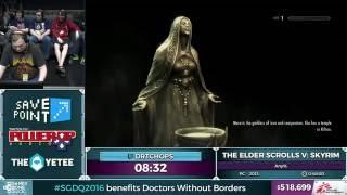 Download The Elder Scrolls V: Skyrim by DrTChops in 46:20 - SGDQ 2016 - Part 124 Video