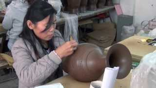 Download CreativeCulture process of creating Chinese Black Pottery Video