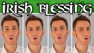 Download Irish Blessing - A Cappella Barbershop Quartet - Julien Neel Video