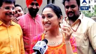 Download Tarak Mehta's team visits Lal Bagh Ka Raja Video
