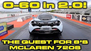 Download NEW Record in the McLaren 720S down the 1/4 Mile with 0-60 MPH in 2 Seconds! Video