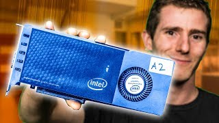 Download WE GOT INTEL'S PROTOTYPE GRAPHICS CARD!! Video