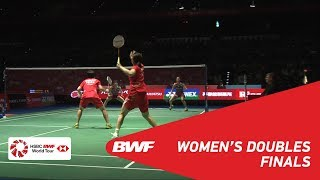 Download F | WD | FUKUSHIMA/HIROTA (JPN) [1] vs CHEN/JIA (CHN) [3] | BWF 2018 Video