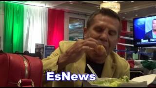 Download Julio Cesar Chavez Sr Breaks Down Canelo vs Chavez Jr - EsNews Boxing Video