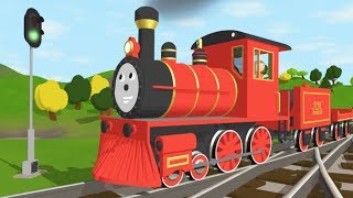 Download The Alphabet Adventure With Alice and Shawn the Train - FULL CARTOON - (Learn letters and words) Video