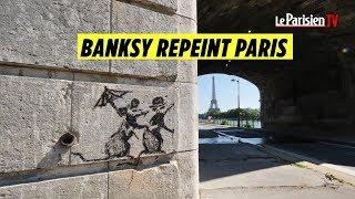 Download Banksy : où trouver les œuvres du street artist dans Paris ? Video