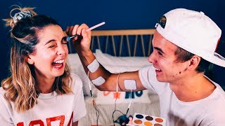 Download Brother Does My Makeup (Shock Edition) | Zoella Video