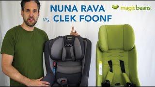 Download Nuna Rava vs. Clek Foonf Convertible Car Seat | Best Most Popular | Comparison Video