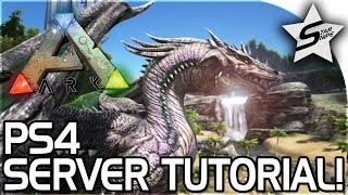 Download ARK Survival Evolved PS4 TUTORIAL - How to Make a Private Server / Dedicated Server! (PS4 PRO!) Video