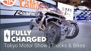 Download Tokyo Motor Show 5 - Trucks and Bikes | Fully Charged Video