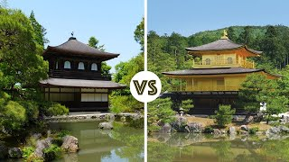 Download Kyoto's Kinkakuji vs Ginkakuji   Which Attraction Wins? ★ ONLY in JAPAN Video