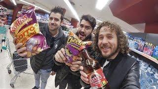 Download Visitando un supermercado en ESPAÑA! (ft. Wismichu y Auronplay) Video