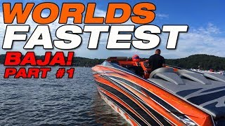 Download Worlds Fastest Baja boat PART 1: First shake down run! Video