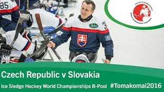 Download Czech Republic v Slovakia| Prelim | 2016 Ice Sledge Hockey World Championships B-Pool, Tomakomai Video