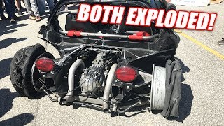 Download 5th Gear, 165mph Burnout EXPLOSION (too far?) Video