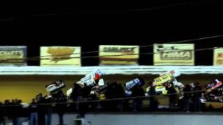 Download World of Outlaws 4 wide salute @ Williams Grove Speedway Video