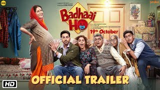 Download 'Badhaai Ho' Official Trailer | Ayushmann Khurrana, Sanya Malhotra | Director Amit Sharma | 19th Oct Video