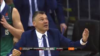 Download Jasikevicius' Reaction After Milaknis' Three Video