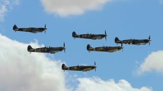 Download Flying Legends Airshow 2015 Part 1: Spitfires at Duxford 11/07/15 Video