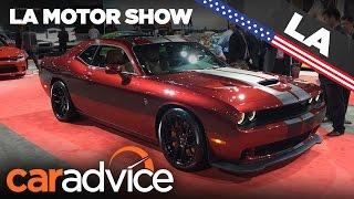 Download 2017 Dodge Challenger SRT | 2016 Los Angeles Motor Show Video