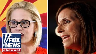 Download McSally, Sinema locked in tight race to fill Flake's seat Video