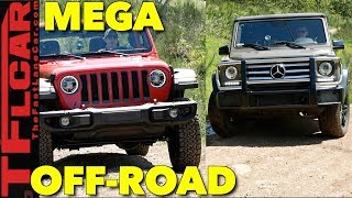 Download Best of America vs Germany Off-Road: Mercedes G-Wagon Takes on the New Wrangler! Video