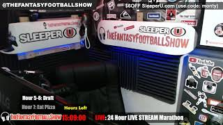 Download 24 Hour LIVE Stream - The Fantasy Football Show Marathon - Sleepers, Breakouts FantasyFootballers Video