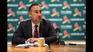Download John Mozeliak discusses changes in the coaching staff Video