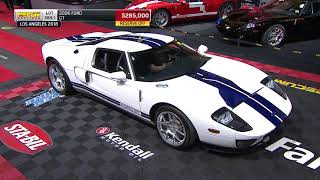 Download 2006 Ford GT Sells for $297,500 // Mecum Los Angeles 2018 Video